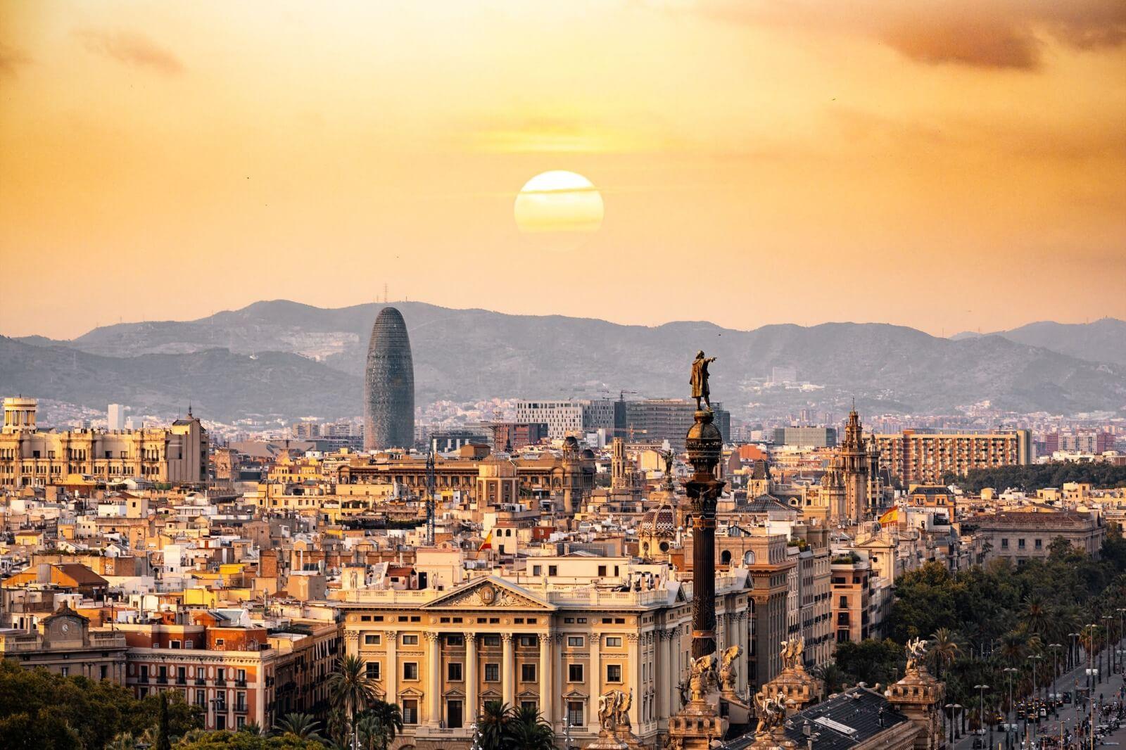 Hospedarse en Barcelona