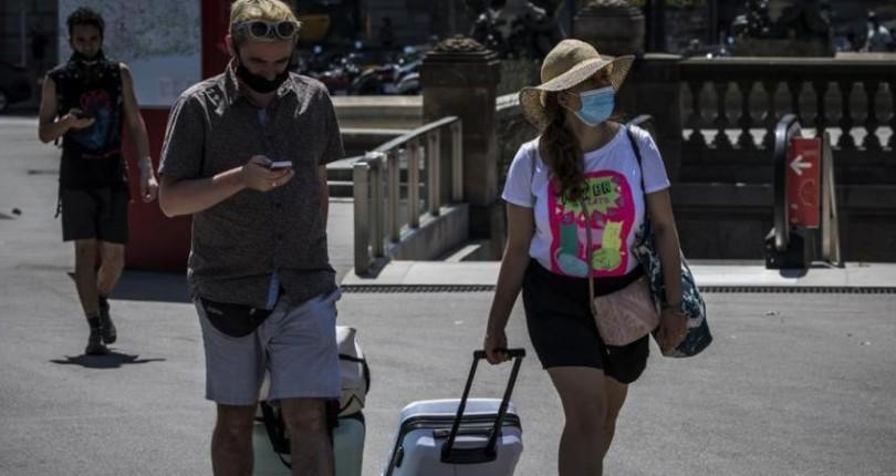 La afluencia turística cae a niveles preolímpicos en Barcelona